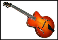 yunzhi 7 strings fully handmade solid wood archtop acoustic jazz guitar