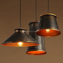New products loft vintage aluminum rustic pendants light for cafe bar resturant