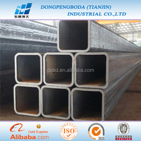 ms carbon weld steel square tube material specifications