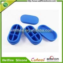 The New 6 Compartments Silicone Pill Storage box
