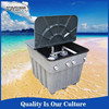 Swimming pool equipment waste water sand filter
