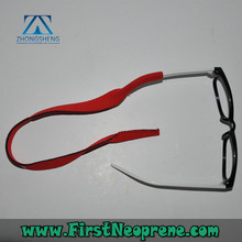 Professional production 3mm thick neoprene glasses strap for kids