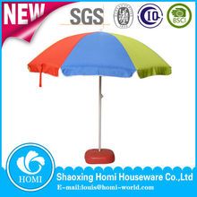 Outdoor Furniture,Beach Travel General Use and Stainless steel Pole Material Umbrella Manufacturer/windproof beach umbrella