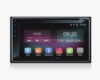 "6.1"" 2 din universal Full Touch Screen Android 4.4.4 Car Dvd Player"