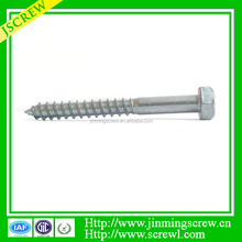 flat head slotted recess zinc plated Furniture assembly screw flat hex head furniture assemble screw