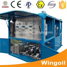 Skid Mounted Wellhead Pipe Hydraulic Pressure Sealing Test Equipment for Oil and Gas Exploitation