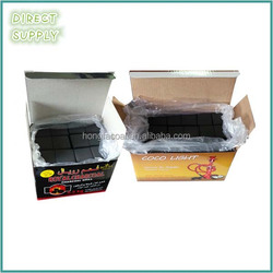 0.5kg and 1 kg lump shape charcoal for hookah