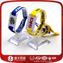 13.56Mhz custom rfid card wristband