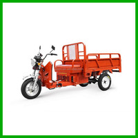 Auto Charging Gasoline Electric Hybrid Tricycle / Hybrid Cargo Motorcycle
