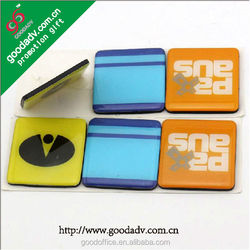 China wholesale Advertising product epoxy magnet with your own design