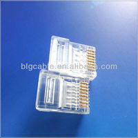 10 pin rj45 connector with 90 degree