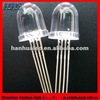 CREE chip 10mm water clear round RGB led common cathode