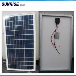 photovoltaic polycrystalline 12v 20w solar panel