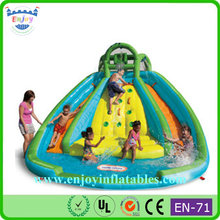 big water slide, Little Tikes Rocky Mountain River Race water slide, Backyard Inflatable Double Lane Slip Slide Pool Slide