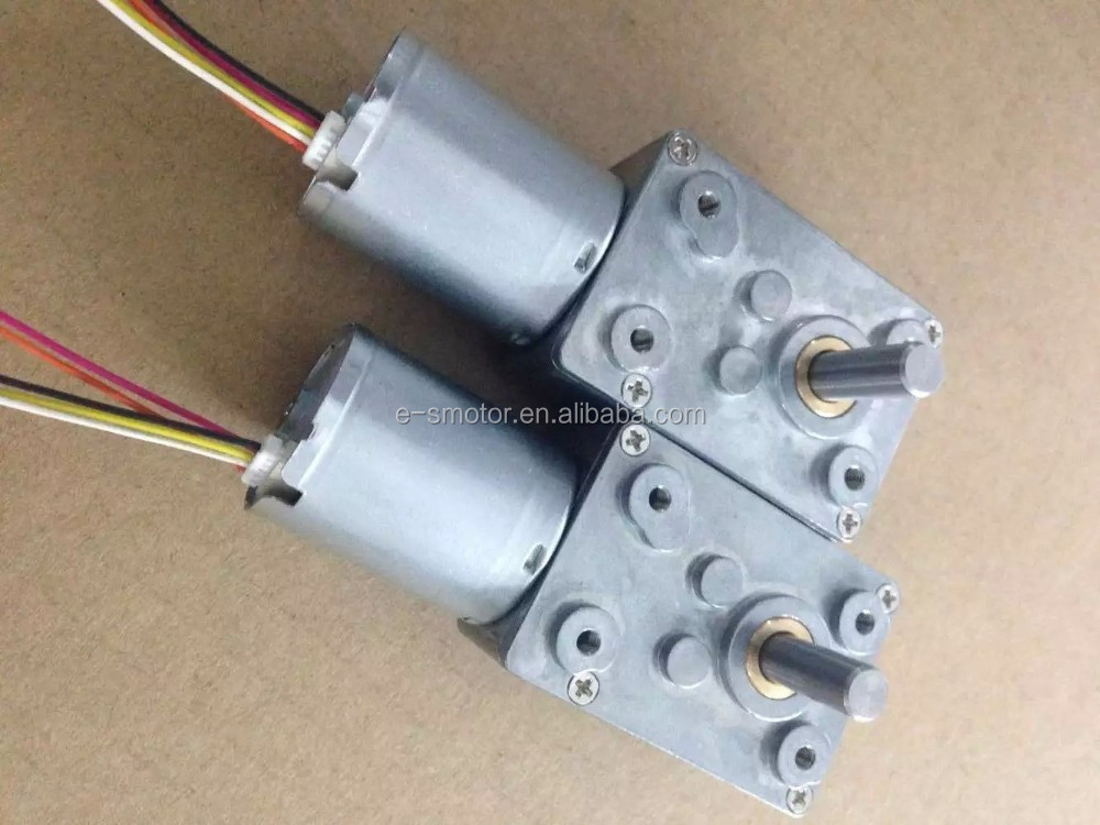 12v Worm Gear Motor With Encoder Buy Worm Gear Motor