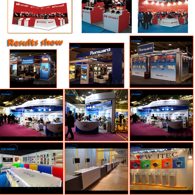 Modern Exhibition Booth : Exhibition stand fair modern trade show booth