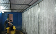 Good quality water curtain paint booth from YDJY