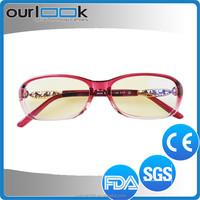 Red Color Famous Design TR90 Stylish Optical Frame Manufacturers Glasses Usage Kids Eyeglasses Frame
