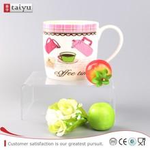 Comfortable To Use unique snowman design ceramic coffee mug