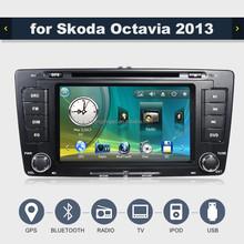 car radio with gps for skoda octavia