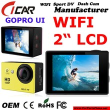 Manufacturer ,Gopro Wifi Sports Dvr Mini FHD 1080P 30M Waterproof Action Cam