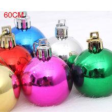 Cristal claro venta al por mayor navidad bola redonda adornos