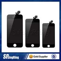 For Apple iPhone 5G 5S 5C Display Screen LCD Assembly With Original Digitizer Glass No Dead Pixel AAA Quality Free Shipping