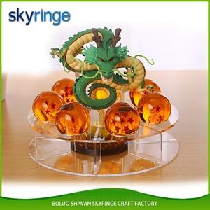 Yüksek kalite özel satılık turuncu reçine yedi 7 dragon ball z toplar