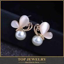 Wholesale new fashion jewelry bee shape design earring hidden camera for women TOPER-00811