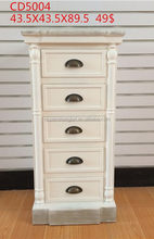 Fashion exported wooden rattan storage cabinet