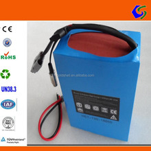 48V 30AH 13s15p 18650 pvc packing customized li-ion lithium ion battery pack