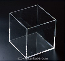 cube storage 2015 hot new product acrylic box