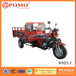 Chongqing Made Peru Popular Strong 250CC Cargo Tricycle Adult With Passenger Seat