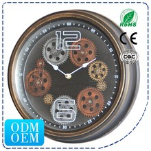 HSD Wheel Gear Clock Wall Clock For Home Decoration