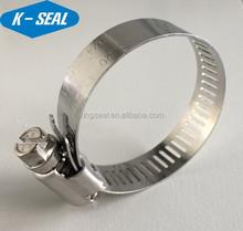 Tipo americano worm drive Hardware clips abrazaderas sujetador