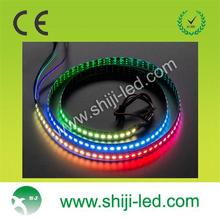 ws2812b pixel rgb led flashing Individual Addressable 5V strip dmx controler