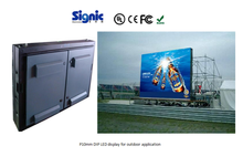 P10 mm CE and Rosh approved excellent viewing DIP advertising display