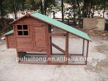 outdoor wooden chicken coop