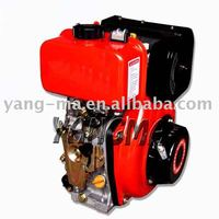 air cooled single cylinder OHV yanmar type small diesel engines 7HPS 178F for generator set