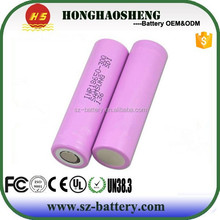 Promotion 18650 battery 30Q 3.7v 3000mah rechargeable battery