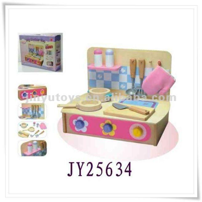 le dr le ustensiles de cuisine en bois jouet pour petite fille jouets cuisine id du produit. Black Bedroom Furniture Sets. Home Design Ideas
