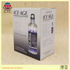 High end folded bottles package corrugated carton box factory