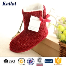 Thick polyline handmade snow boots shoes