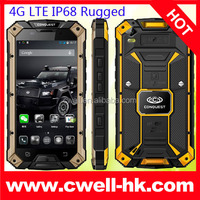 5.0 Inch Corning Gorilla Touch Screen MT8732 64Bit Quad Core CPU OTG NFC Conquest S6 IP68 Waterproof 4G LTE android mobile phone
