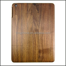 high quality two parts wood bamboo case for ipad 5