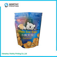 Food Grade Plastic Zipper Bags For Cookie