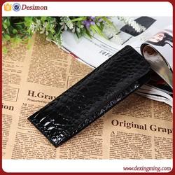 leather spectacle case / custom eyewear case leather / cute pu leather eyewear case