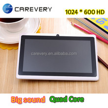 2015 Best selling Android 7 inch Boxchip A33 slim tablet with quad core