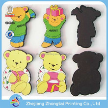 Custom Soft Pvc Fridge Magnets, magnetic fridge stickers, Kids promotional magnetic sticker