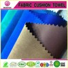 Poly Woven Suede Functional Brushed Upholstery Fabric for Sofa